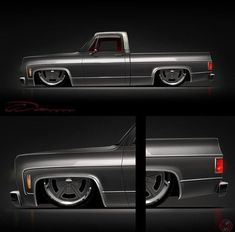 Hot Wheels - Damn this render via is the business hands up who is building this? Vintage Chevy Trucks, Silverado Truck, Custom Chevy Trucks, Chevy Pickup Trucks, Classic Chevy Trucks, Chevy Pickups, Chevrolet Silverado, Customised Trucks, Chevy Stepside