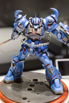 GUNDAM GUY: Gunpla Builders World Cup (GBWC) 2014 Japan Finalists Entries - On Display @ Gunpla Expo World Tour 2014 : Gouf Custom