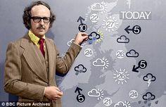 Michael Fish with his 'high tech' magnetic weather symbols ‼️⛈☀️❄️☔️ 1970s Childhood, My Childhood Memories, Childhood Toys, 1970 Style, My Youth, Teenage Years, Old Tv, Before Us, My Memory