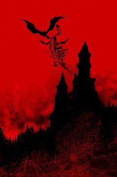 Dark Gothic, Gothic Art, Dark Fantasy Art, Dark Art, Comte Dracula, Vampires And Werewolves, Vampire Art, Creatures Of The Night, Art Graphique
