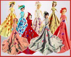 #dress#dress-doll#child#decor#style#designer#fabric#sewn#hand-sewn#wonderful#paint#toys#gift#barbie#paint Barbie, Hand Sewn, Create Yourself, Etsy Seller, Child, Doll, Paint, Creative, Dress