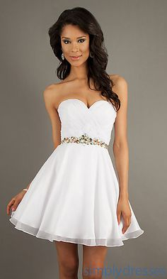 Strapless Party Dress by Alyce 3547 at SimplyDresses.com