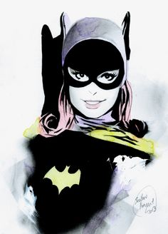 Batgirl by Shelton Bryant - Matilda Dc Comics Girls, Marvel Girls, Cute Comics, Marvel Dc, Batman And Batgirl, I Am Batman, Barbara Gordon, Comic Books Art, Comic Art