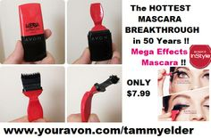 Avon Products. Shop Avon. Mega Effects Mascara !!