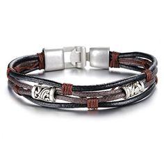 JOEYOUNG Fashion Jewelry Mens Leather Bracelet Women Fabr... http://www.amazon.com/dp/B015C0SKAE/ref=cm_sw_r_pi_dp_CU-qxb1G1QD4V