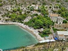 Beach Porat is one of the most beautiful beaches on the island of Bisevo