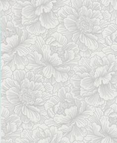 Flourish: White Wallpaper from www.grahambrown.com