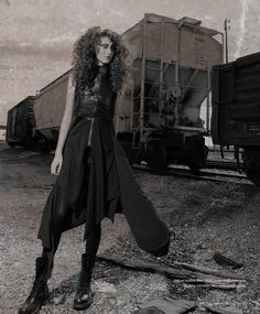 """Beverly Drive"" magazine - ""Iron Maiden"" fashion editorial"