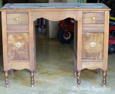 White aged vanity tutorial Video | I want to know how to do this. Perfectly Imperfect Blog