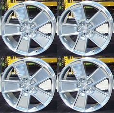 "10110 auto-parts-general New Set of 4 OEM 21"" Staggered 2010-2015 Chevy Chevrolet Camaro Polished Wheels  BUY IT NOW ONLY  $399.0 New Set of 4 OEM 21"" Staggered 2010-2015 Chevy Chevrolet Camaro Polished Wheels..."