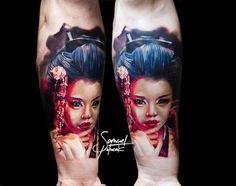 tattoo works by @samuel_tukabel  @inkedoneart #tattoo #tattoos #inkedone #tattooed #colortattoo #newtattoo #tattooer #tattooed #geisha #geishatattoo #realistictattoo #tat #tattooart #tattooartwork #inspiration #tattooinspiration #tattooing #tattooink