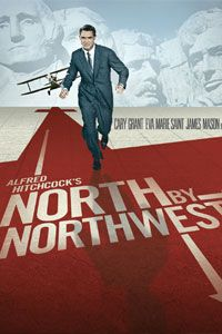 Alfred Hitchcock's North by Northwest. 07.18.12 #hitchcock #classics #carygrant  Con la Muerte en los Talones