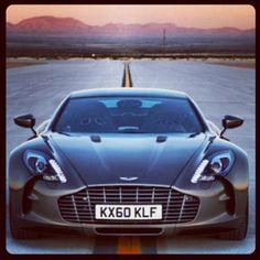 The Epic Aston Martin one-77! stunning