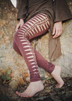 La coupe Pixie Leggings sont faites de coton extensible. Leggings lutin beauté…