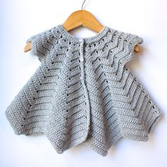 Baby Easter Ripple Coat, Spring Jacket in Silver, Size 12-18 Months