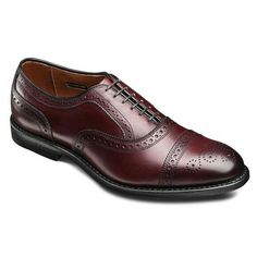 Allen Edmonds - STRAND CAP-TOE OXFORDS - Merlot