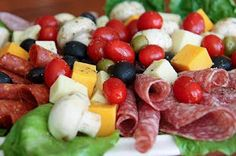 SusieQTpies Cafe: Antipasto Platter served up by Guest Chef @ Let's Dish
