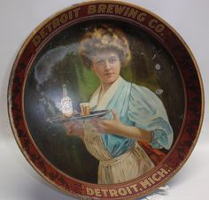 DETROIT BREWING CO. PRE-PRO BEER TRAY