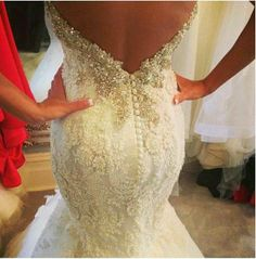 My dream dress :o #elegant #lace #fishtale #sexybody