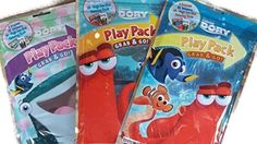 DORY PARTY SUPPLIES Have a Finding Dory Party Dory Party Favors Bundle of 3 different titles -- Visit the image link more details.