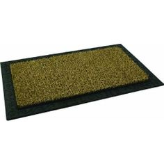 Grassworx 10325530 Clean Machine Scraper Door Mat by Grassworx. $18.92. The Perfect combination of great performance and good looks, the filigree mat has cocoa cleaning blades with a rubber filigree pattern border. The tiny blades grab, hold, and hide dirt beneath the surface to prevent tracking and keep the home clean. The collected dirt can be shaken out and the door mat rinsed with a garden hose. 18'' x 30''. Color: Cocoa.