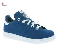 adidas Originals Stan Smith C Enfants Sneaker Bleu S32174, Size:32 - Chaussures adidas (*Partner-Link)