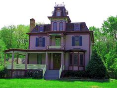 I Love Purple (& Pink) Houses | Flickr - Photo Sharing!