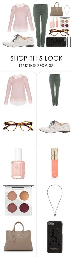 """""""Under Super"""" by ktowner23 ❤ liked on Polyvore featuring Ted Baker, Armani Exchange, EyeBuyDirect.com, Tod's, Essie, Smith & Cult, MAC Cosmetics, Gucci, Vivienne Westwood and Bottega Veneta"""