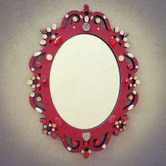 Espelho Veneziano Pequeno - 35x27cm