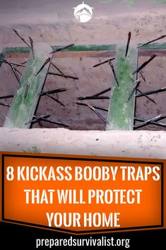 8 Kickass Booby Traps That Will Protect Your Home - Prepared Survivalist - Burglars are on every corner waiting for an opportunity to rob you from your valuables. Survival Food, Homestead Survival, Wilderness Survival, Camping Survival, Outdoor Survival, Survival Knife, Survival Prepping, Survival Skills, Survival Quotes
