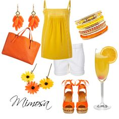 Mimosa, created by kitkat137 on Polyvore