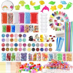 Glitter Slime, Glitter Confetti, Slime Kit, Diy Slime, Cute Notebooks For School, Disney Princess Toys, Animated Emoticons, Barbie Doll Set, American Girl Doll Pictures
