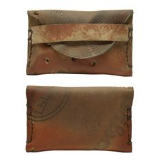 Awesome Idea!    Image of Repurposed Vintage Leather Wilson Glove Wallet