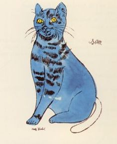 1000 images about cat art andy warhol on pinterest