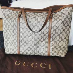 Gucci supreme GG shopper