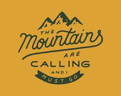 Quickly! Source: zacharysmithh.com/  #johnmuir #sierraclub #mountains #nature #environment #hiking #camping