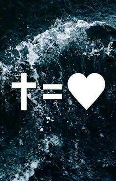 The Cross Equals Love ❤️ . Jesus Christ Quotes, Jesus Bible, Jesus Is Lord, Bible Scriptures, Bible Quotes, Cross Equals Love, Cross Love, Jesus On The Cross, Jesus Wallpaper