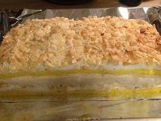 Wieder einmal gibt's einen Kuchen dem bis jetzt in meinem Umfeld jedem geschmeckt hat! Also ein absolutes Nachback-Rezept ! ;-) Für Oma... Macaroni And Cheese, Pie, Ethnic Recipes, Desserts, Food, Grandma Cake, Bakken, Sliced Almonds, Fast Recipes