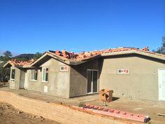 New construction clay S tile custom blend