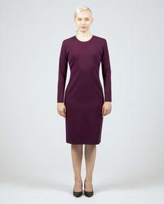 LOVIISA Dress Workwear Fashion, Work Wear, High Neck Dress, Dresses, Vestidos, Work Clothes, Gowns, Career Wear, Workwear