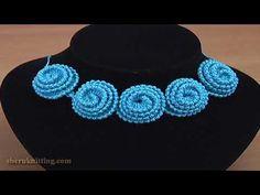 Crochet Round Cord Video Tutorial - Crochet Ideas Crochet Bracelet Pattern, Crochet Cord, Crochet Motifs, Crochet Buttons, Freeform Crochet, Irish Crochet, Crochet Lace, Crochet Stitches, Crochet Necklace