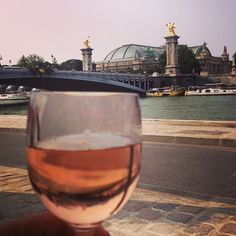 Drinks with a view on Pont Alexancre III (2) at Flow in #paris, #MO15 & #PDW15