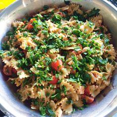 Barefoot Contessa's Sun-dried Tomato Pasta Salad with Feta | la bonne vivante