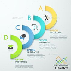#Modern Infographic Options #Template - #Infographics Download here: https://graphicriver.net/item/modern-infographic-options-template/10530361?ref=alena994