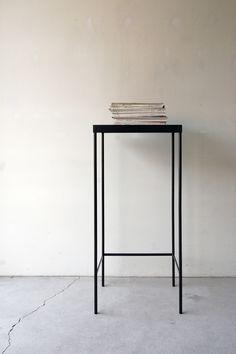 |130 | 01_Custom made furniture Frame side board: W450 D350 H1,050 / Steel hardening melamine paint