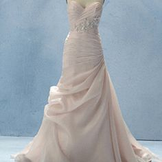 Sleeping Beauty wedding dress. Stunning. Maybe for a vow renewal? :)