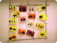 Mickaëlle Delamé: EXPO Peintures Africaines, Médiathèque de Marmande