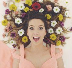 rapunzel themed photo shoot #zoella