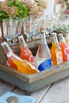 Party beverage display