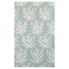 Aquatta Sky Blue & White Area Rug